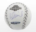 Autographs:Baseballs, Ichiro Suzuki Single Signed Baseball. Beautiful blue ink side panelsignature by Ichiro graces this 2003 official All-Star ...