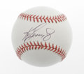 Autographs:Baseballs, Ken Griffey, Jr. Single Signed Baseballs Lot of 2. Junior timestwo. Flawless ink signatures appear on the sweet spots of ...(Total: 2 Items)