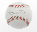 Autographs:Baseballs, Willie Mays Single Signed Baseballs Lot of 2. A perfect blue inksignature of he Say Hey Kid resides on the sweet spot of e...(Total: 2 Items)