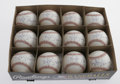 Autographs:Baseballs, Darryl Strawberry Single Signed Baseballs Lot of 12. One dozensweet spot-signed OML baseball from 1983's Rookie of the Yea...(Total: 12 Items)