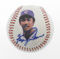 Autographs:Baseballs, Chuck Connors, Bob Feller & Fergie Jenkins Single SignedBaseballs. The Rifleman, and two guys who threw faster than aspee... (Total: 3 Items)