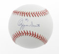 Autographs:Baseballs, Mike Piazza, Chipper Jones & Ozzie Smith Single SignedBaseballs. Three superstar singles for the price of one. Eachappea... (Total: 3 Items)