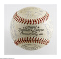 Autographs:Baseballs, 1959 Cincinnati Reds Team Signed Baseball. Frank Robinson and VadaPinson are among the 26 signatures on this ONL (Giles) b...