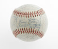 Autographs:Baseballs, 1961 Pittsburgh Pirates Team Signed Baseball. Thirty inksignatures, most in blue, grace this important Pittsburgh Pirates...