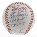 Autographs:Baseballs, 1989 National League All-Star Team Signed Baseball. Direct fromNational League umpire Bob Engel comes this Official 1989 A...