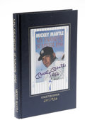 """Autographs:Others, Mickey Mantle Signed Book. First edition of the hardcover book """"MyFavorite Summer 1956"""" by Mickey Mantle and Phil Pepe. O..."""