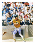 """Autographs:Photos, Mark McGwire Signed Photograph. Big Mac graces this vibrant 8x10""""full color print from his days with the Athletics. McGwi..."""