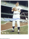 "Autographs:Photos, Mickey Mantle Signed Photographs Lot of 5. Fantastic group of five8x10"" photographs featuring the Mick sporting the iconic..."