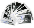 "Autographs:Photos, Hall of Famer Signed Photographs Lot of 23. Most of these 3.5x5.5""black and white photographs feature Hall of Famers (Mick..."