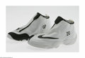 "Basketball Collectibles:Uniforms, Gary Payton Game Worn Shoes. Nike shoes specially designed for Gary""The Glove"" Payton while a member of the Los Angeles La..."
