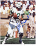Football Collectibles:Others, Joe Namath Signed Photographs Lot of 3. Three excellent prints of the quarterback who is best known for guaranteeing a vict...