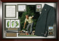 Golf Collectibles:Autographs, Massive Jack Nicklaus Signed Shadowbox Display. Celebrating theGolden Bear's 1986 Masters Championship is this amazing and...