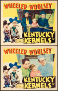 "Movie Posters:Comedy, Kentucky Kernels (RKO, 1934). Lobby Cards (2) (11"" X 14"").. ...(Total: 2 Items)"