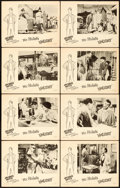 "Movie Posters:Foreign, Mr. Hulot's Holiday (GBD International, 1953). Lobby Card Set of 8(11"" X 14"").. ... (Total: 8 Items)"