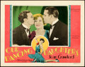 "Movie Posters:Drama, Our Dancing Daughters (MGM, 1928). Lobby Card (11"" X 14"").. ..."