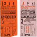 Baseball Collectibles:Tickets, 1930 World Series Ticket Stubs Lot of 2. ...