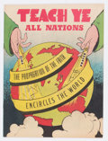 Golden Age (1938-1955):Religious, Teach Ye All Nations #nn (Topix, undated) Condition: VF+....