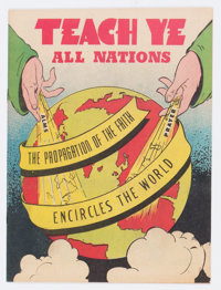 Teach Ye All Nations #nn (Topix, undated) Condition: VF+