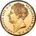Great Britain, Great Britain: George IV gold 2 Pounds 1823 MS63 NGC,...