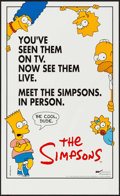 "Movie Posters:Animation, The Simpsons & Others Lot (20th Century Fox, 1990). Identical Posters (20) (14.5"" X 23.5""), One Sheets (9) (27"" X 40"" & 27""... (Total: 61 Items)"