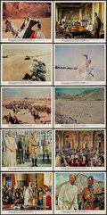 "Movie Posters:Academy Award Winners, Lawrence of Arabia (Columbia, 1962). Color Photo Set of 10 (8"" X10""). Academy Award Winners.. ... (Total: 10 Items)"