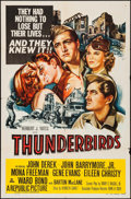 """Movie Posters:War, Thunderbirds & Others Lot (Republic, 1952). One Sheet (27"""" X41""""), Title Cards (3) & Lobby Cards (3) (11"""" X 14""""). War.. ...(Total: 7 Items)"""