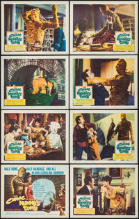 """The Curse of the Mummy's Tomb (Columbia, 1964). Lobby Card Set of 8 (11"""" X 14""""). Horror. ... (Total: 8 Items)"""
