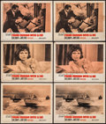 "Movie Posters:James Bond, From Russia with Love (United Artists, 1964). Lobby Cards (6) (11"" X 14""). James Bond.. ... (Total: 6 Items)"