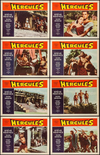 """Hercules (Warner Brothers, 1959). Lobby Card Set of 8 (11"""" X 14""""). Action. ... (Total: 8 Items)"""