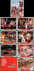 """Movie Posters:Action, Spartacus (Universal International, 1960). Roadshow Lobby Card Set of 9 (11"""" X 14""""). Action.. ... (Total: 9 Items)"""