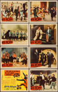 """Movie Posters:Rock and Roll, Let's Rock (Columbia, 1958). Lobby Card Set of 8 (11"""" X 14""""). Rockand Roll.. ... (Total: 8 Items)"""