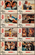 """Movie Posters:Sports, Winning (Universal, 1969). Lobby Card Set of 8 (11"""" X 14""""). Sports.. ... (Total: 8 Items)"""