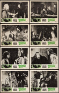 "Movie Posters:Horror, Tower of London (United Artists, 1962). Lobby Card Set of 8 (11"" X14""). Horror.. ... (Total: 8 Items)"