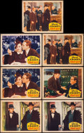 """Movie Posters:Drama, Great Guy (Grand National, 1936). Lobby Cards (7) (11"""" X 14""""). Drama.. ... (Total: 7 Items)"""