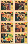 "Movie Posters:Drama, The Man Who Returned to Life & Others Lot (Columbia, 1942). Lobby Card Sets of 8 (3 Sets) & Lobby Cards (8) (11"" X 14""). Dra... (Total: 32 Items)"