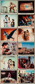 """Movie Posters:Fantasy, The 7th Voyage of Sinbad (Columbia, 1958). Color Photo Set of 12 (8"""" X 12""""). Fantasy.. ... (Total: 12 Items)"""