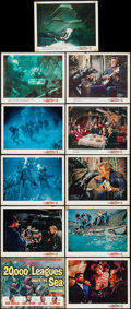 "Movie Posters:Science Fiction, 20,000 Leagues Under the Sea (Buena Vista, 1954). Title Lobby Card,Original Lobby Cards (6) (11"" X 14"") Lobby Cards (4, R-1... (Total:11 Items)"