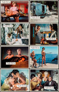 """Movie Posters:Bad Girl, Deadlier Than the Male (Universal, 1967). Italian Lobby Cards (8)& Lobby Cards (3) (11"""" X 14""""). Bad Girl.. ... (Total: 11 Items)"""