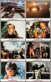 """Blade Runner (Warner Brothers, 1982). Lobby Card Set of 8 (11"""" X 14""""). Science Fiction. ... (Total: 8 Items)"""