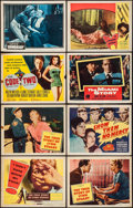 Movie Posters:Crime, The True Story of Lynn Stuart & Others Lot (Columbia, 1958).Title Lobby Cards (3), Lobby Cards (77), and Lobby Card Sets of...(Total: 144 Items)