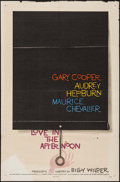 """Movie Posters:Romance, Love in the Afternoon (Allied Artists, 1957). One Sheet (27"""" X 41""""). Romance.. ..."""