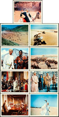 "Movie Posters:Academy Award Winners, Lawrence of Arabia (Columbia, 1962). Deluxe Roadshow Lobby Card Setof 12 (11"" X 14"").. ... (Total: 12 Items)"