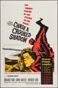 "Movie Posters:Mystery, Chase a Crooked Shadow & Others Lot (Warner Brothers, 1958).One Sheets (4) (27"" X 41""), Trimmed One Sheet (26.25"" X 41"") &... (Total: 9 Items)"