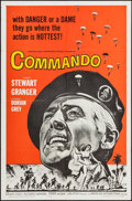 "Movie Posters:War, Commando & Others Lot (American International, 1964). OneSheets (4) (27"" X 41"") & Lobby Cards (2) (11"" X 14""). War.. ...(Total: 6 Items)"