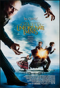 "Lemony Snicket's A Series of Unfortunate Events & Others Lot (Paramount, 2004). One Sheets (3) (27"" X 40"")..."