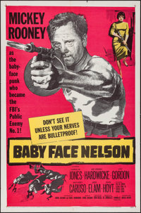 """Baby Face Nelson & Other Lot (United Artists, 1957). One Sheets (2) (27"""" X 41""""). Crime. ... (Total: 2..."""