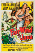 """Movie Posters:Adventure, Fair Wind to Java and Other Lot (Republic, 1953). One Sheets (2)(27"""" X 41"""") & Lobby Card Set of 8 (11"""" x 14""""). Adventure....(Total: 10 Items)"""