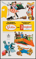 "Movie Posters:Animation, Bedknobs and Broomsticks (Buena Vista, 1971). Unassembled TheaterHanging Mobile. (12.5"" X 21.5"") Animation.. ..."