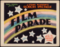 """Movie Posters:Documentary, The Film Parade (Alliance, 1933). Title Lobby Card (11"""" X 14""""). Documentary.. ..."""