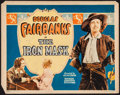 "Movie Posters:Adventure, The Iron Mask (United Artists, 1929). Title Lobby Card (11"" X 14"").Adventure.. ..."